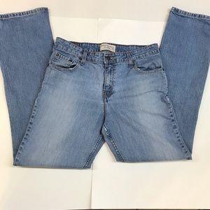 Levi Strauss Straight Leg Blue Jeans